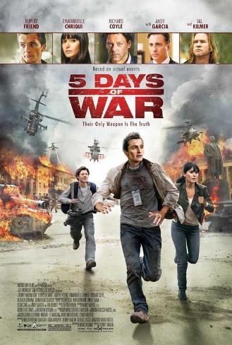 5 Days of War Masterprint