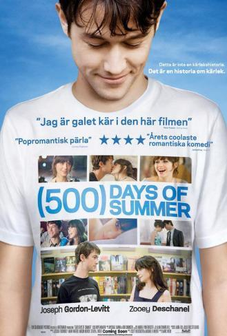 500 Days of Summer - Swedish Style Poster