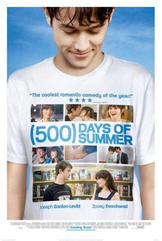 500 Days of Summer - UK Style Poster