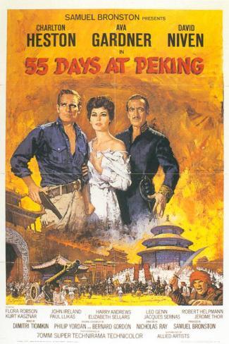 55 dagar i Peking Masterprint