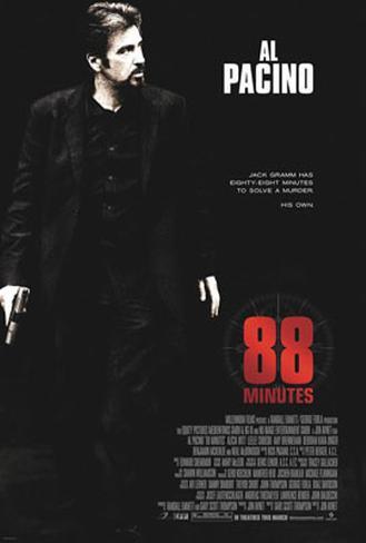 88 Minutes Originalposter