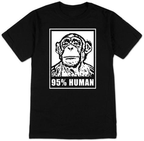 95% Human T-Shirt T-Shirt