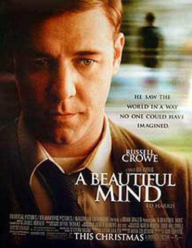 A Beautiful Mind Dubbelsidig poster