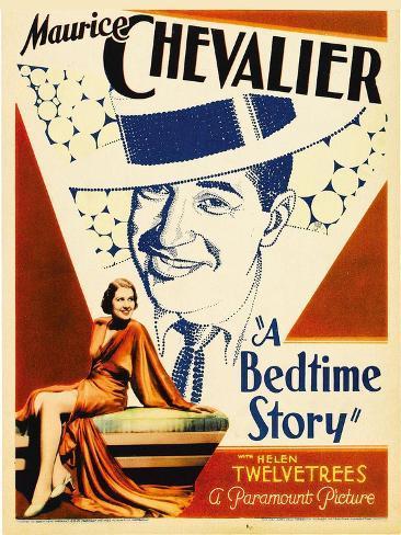 A Bedtime Story, Maurice Chevalier, 1933 Fotografía