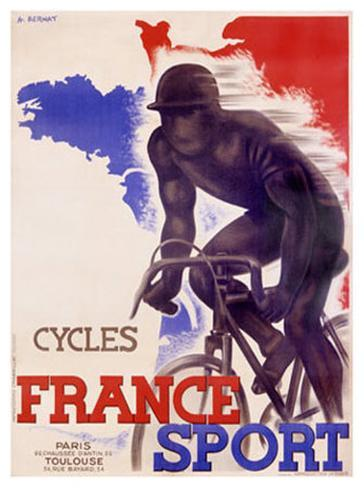 Cycles France Sport Giclee Print