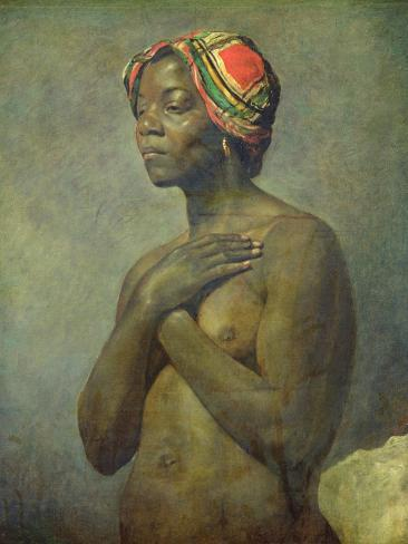 A Black Woman Stampa giclée