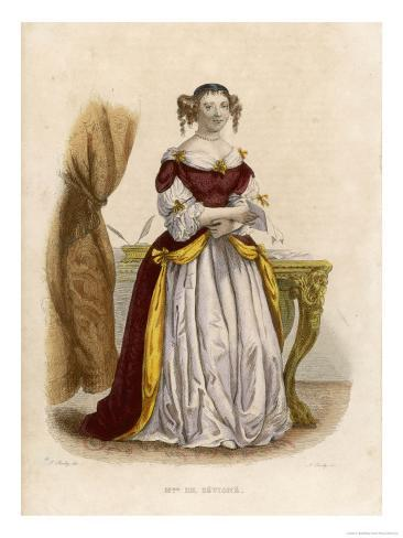 Marie De Rabutin-Chantal Marquise Known as Madame De Sevigne Giclee Print