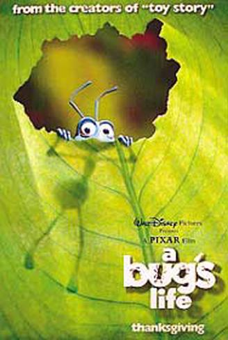 A Bug's Life Double-sided poster