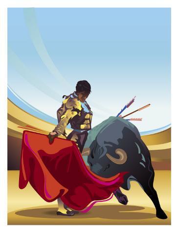 A Bullfight Stampa artistica
