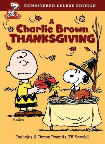 A Charlie Brown Thanksgiving Masterprint