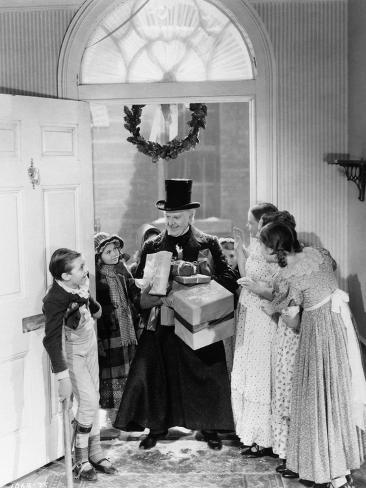 A Christmas Carol, 1938 Photographic Print