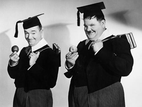 A Chump at Oxford, 1940 Photographic Print