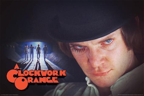 A Clockwork Orange- Alex & The Roogs Poster