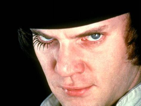 A Clockwork Orange, Malcolm McDowell, 1971 Foto