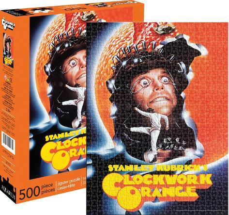 A Clockwork Orange One Sheet 500 Piece Jigsaw Puzzle Jigsaw Puzzle
