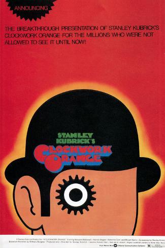 A Clockwork Orange, Poster, 1971 Poster