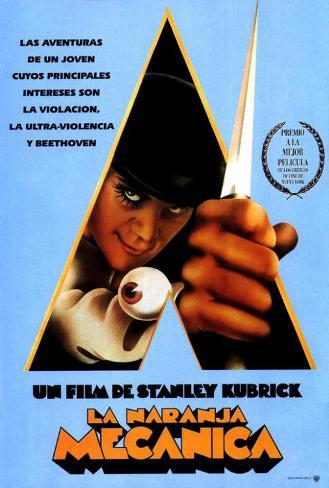 A Clockwork Orange - Spanish Style Poster