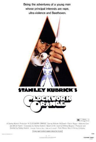 A Clockwork Orange Framed Poster