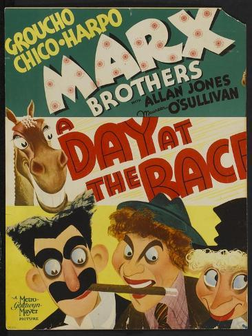 A Day at the Races, 1937 Art Print