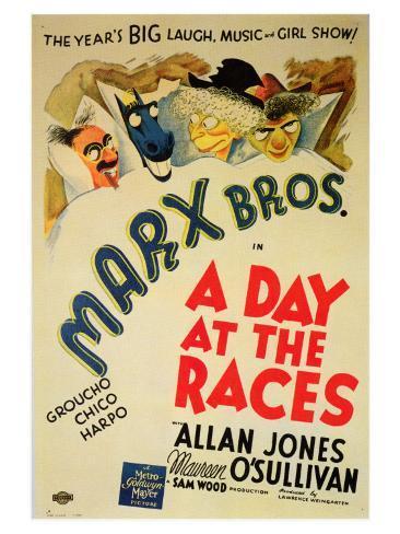 A Day at the Races, 1937 Lámina