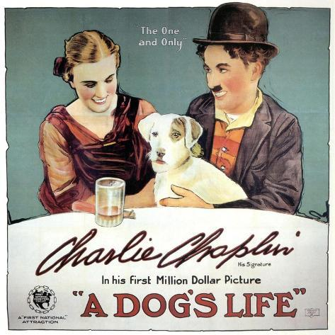 A Dogs Life, 1918 Giclee Print