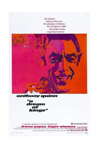 A Dream of Kings,  Anthony Quinn, 1969 Art Print