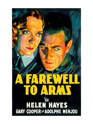 A Farewell to Arms Art Print