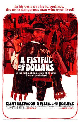 A Fistful of Dollars Masterprint