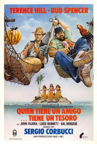 A Friend Is a Treasure - Spanish Style Poster