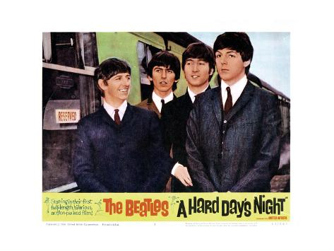 A Hard Days NightRingo Starr George Harrison John Lennon Paul Mccartney 1964