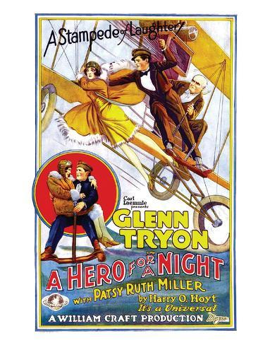 A Hero For A Night - 1927 Giclee Print
