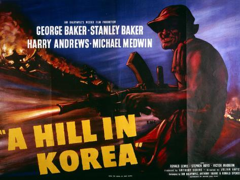 A Hill in Korea Art Print
