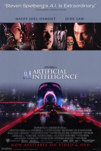 A. I.: Artificial Intelligence ポスター
