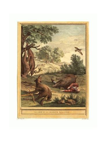 A.-J. De Fehrt after Jean-Baptiste Oudry (French Giclee Print