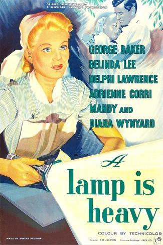 A Lamp Is Heavy Art Print
