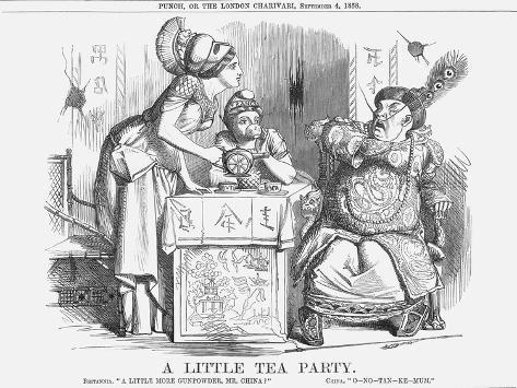 A Little Tea Party, 1858 Giclee Print