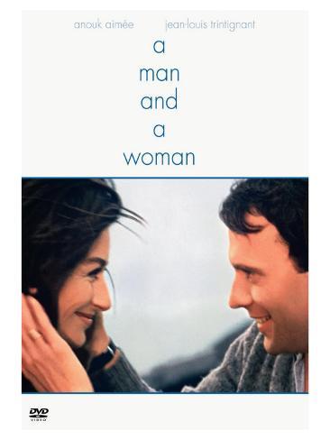 A Man and a Woman, 1966 Art Print