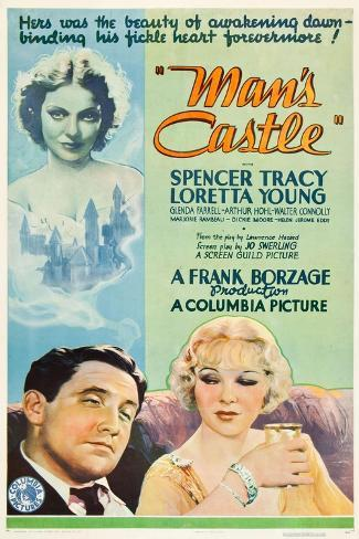 A Man's Castle, 1933, Directed by Frank Borzage Giclee Print