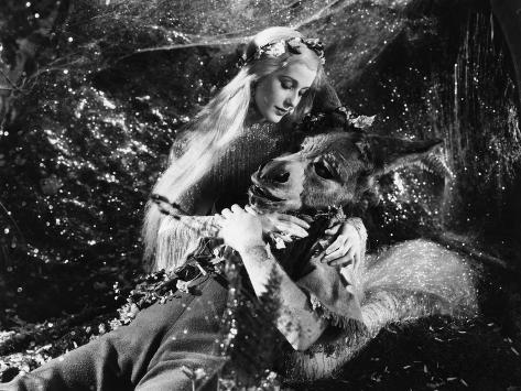 A Midsummer Night's Dream, Anita Louise, James Cagney, 1935 Photo