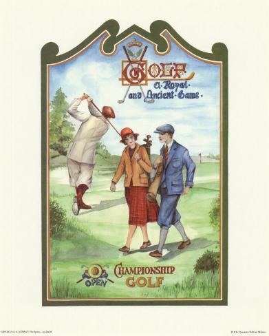 Golf Championship Art Print