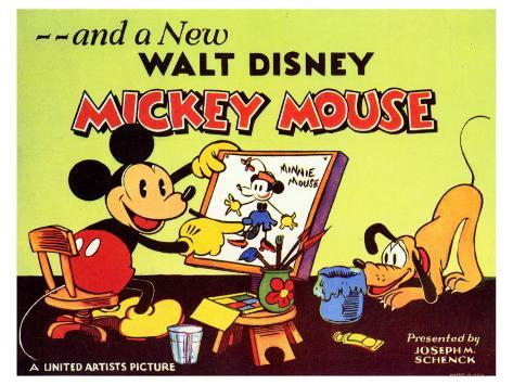 A New Walt Disney Mickey Mouse, 1932 Art Print