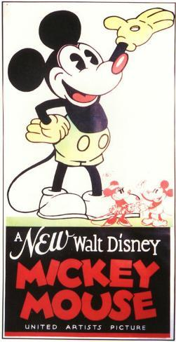 A New Walt Disney Mickey Mouse Masterprint
