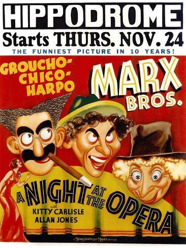 A Night At The Opera, 1935 Art Print