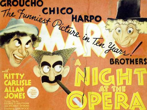 A Night At The Opera, 1935 Art Print
