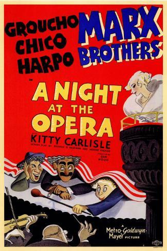 A Night at the Opera Masterprint