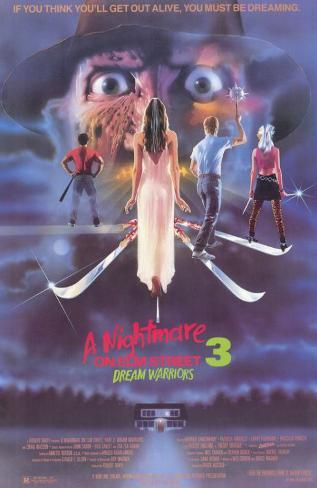 A Nightmare on Elm Street 3: Dream Warriors Stampa master