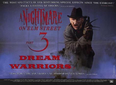 A Nightmare on Elm Street 3: Dream Warriors Masterprint