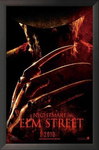 A Nightmare on Elm Street Framed Art Print