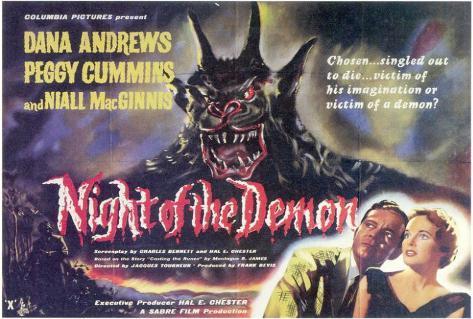 A Noite Dos Demônios Pôster
