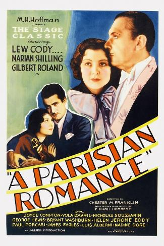 A Parisian Romance Art Print